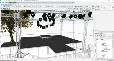 Visualisierung mit Vectorworks Spotlight