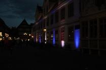 Altes Rathaus beleuchtet mit Litecraft AT 3